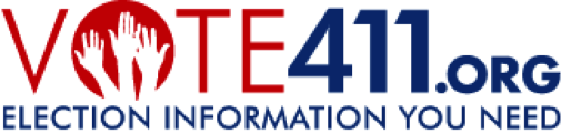 Vote411.org logo banner